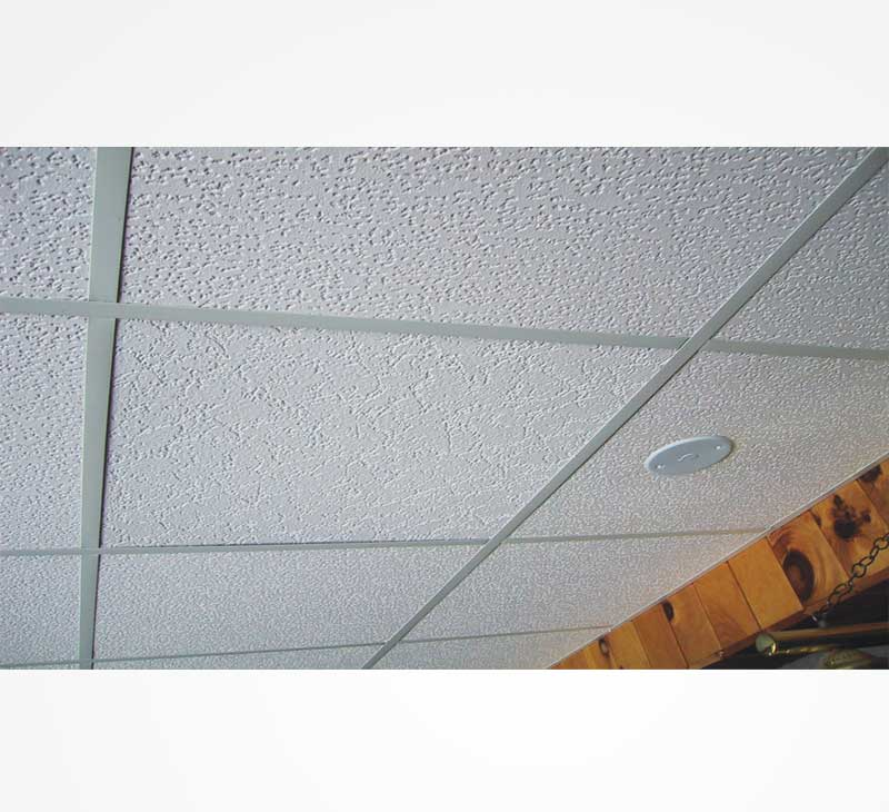 Accoustic ceiling tile